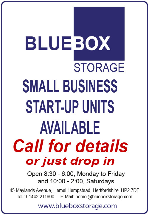 BlueBox Storage - one stop shop for all your storage needs