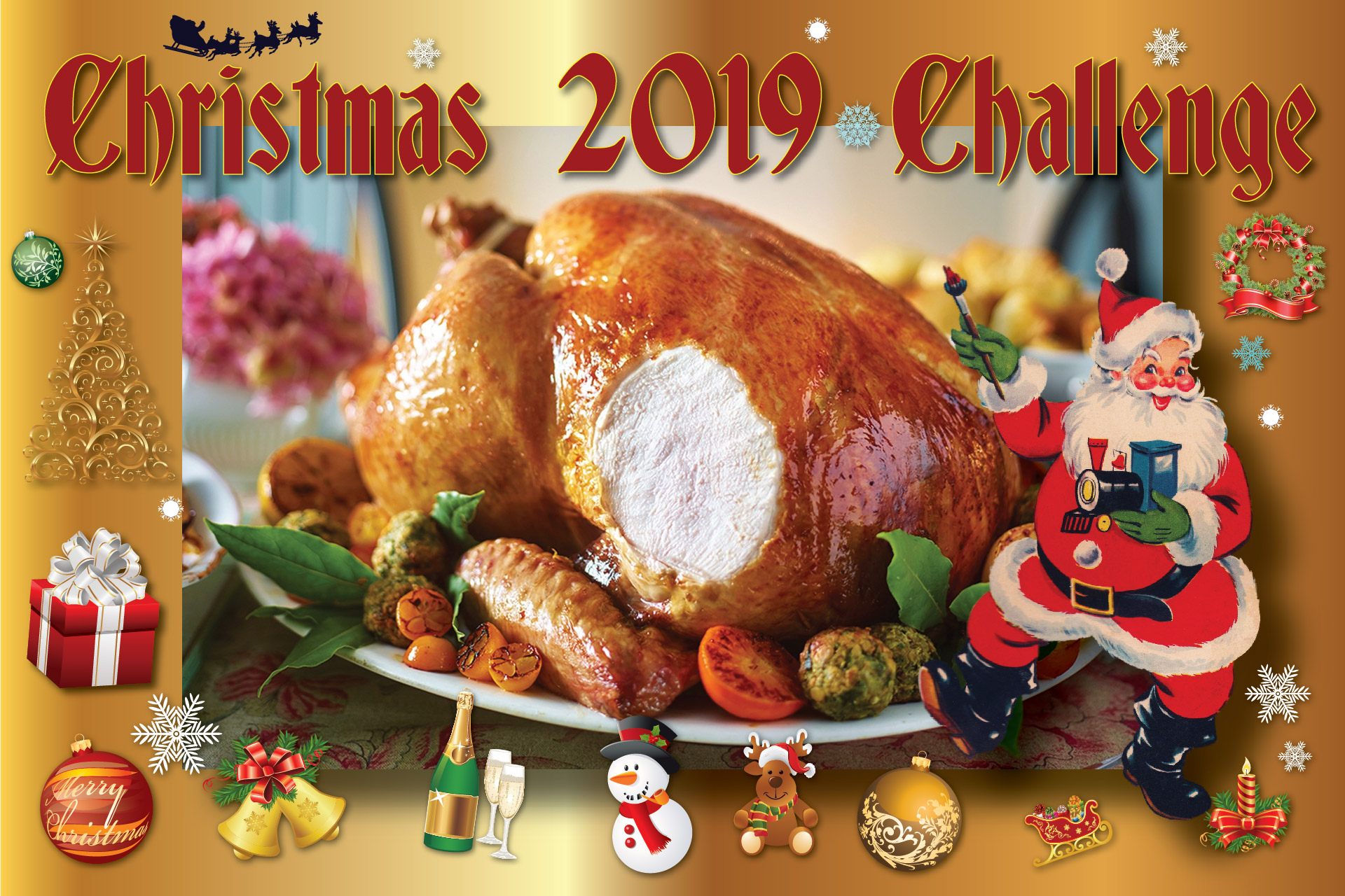 The Grovehill Christmas 2019 Challenge