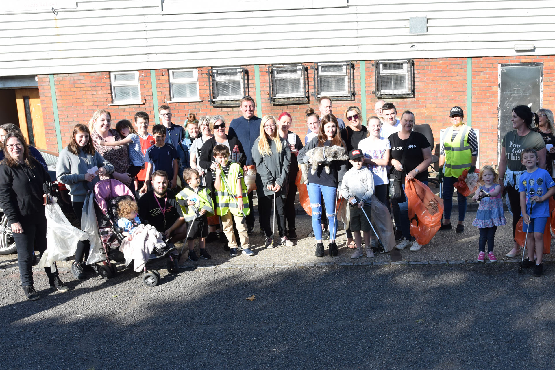Harvey inspires us all to keep Grovehill tidy