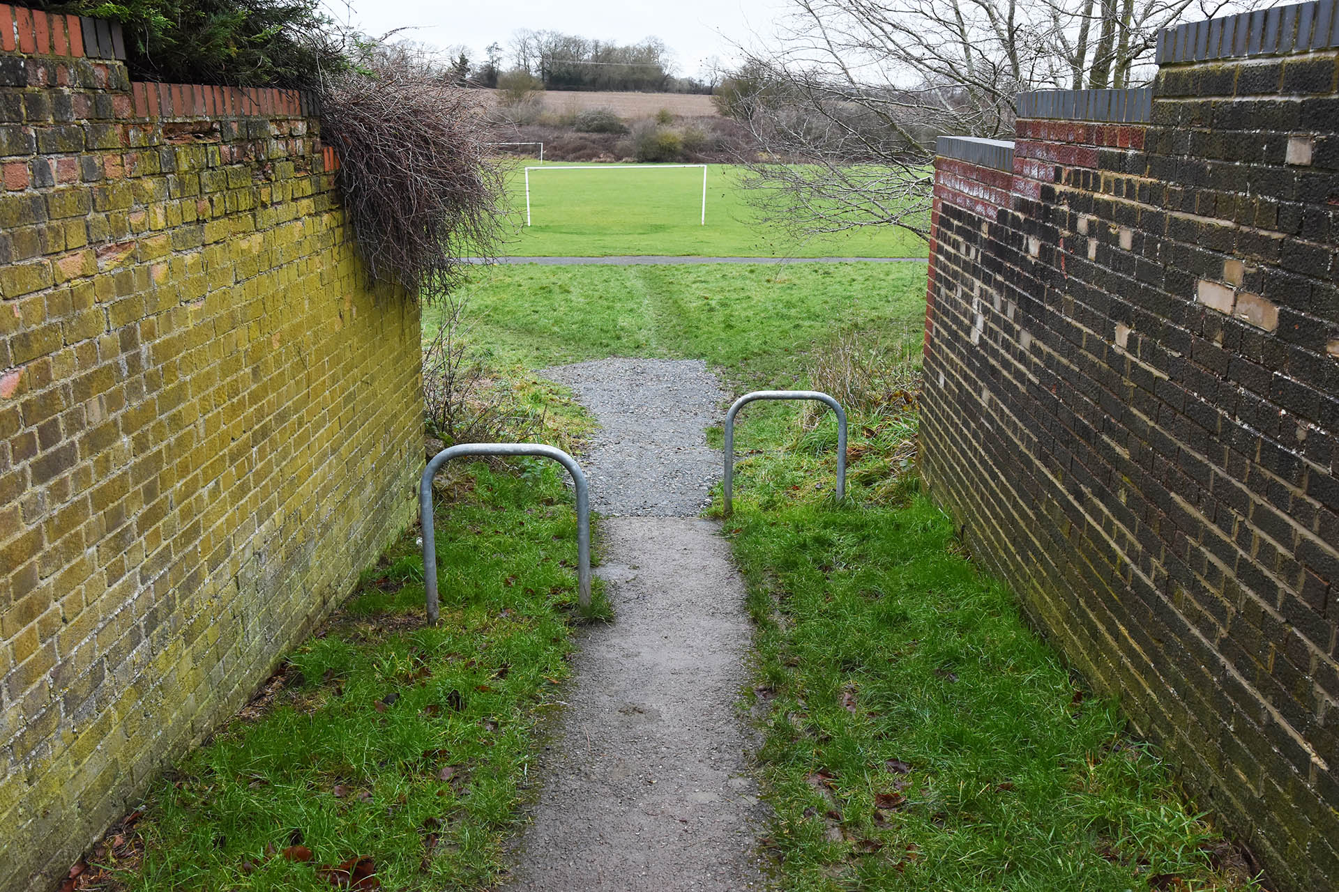 Pathway in Wootton Drive finally sorted