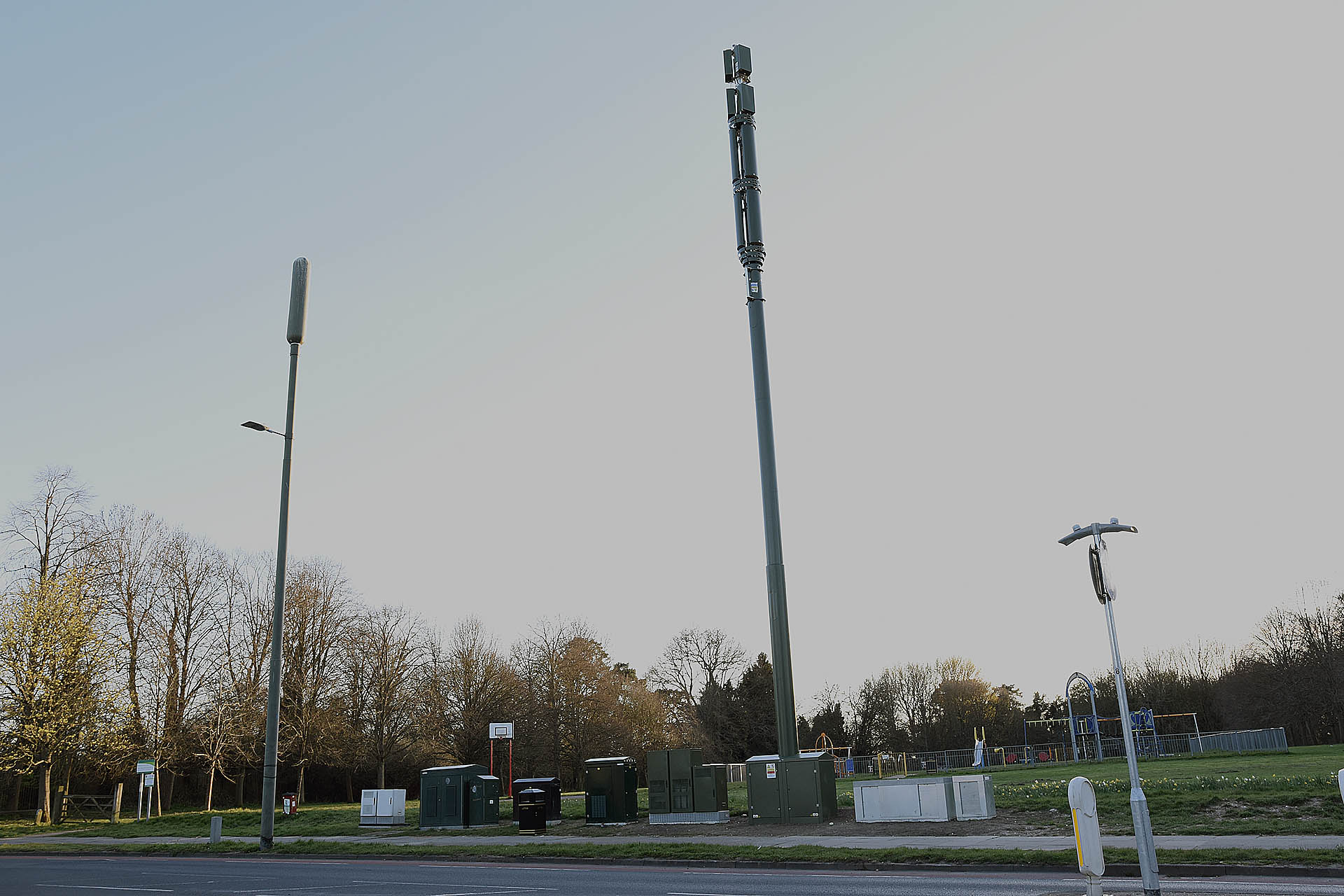 New 5G Masts in Grovehill